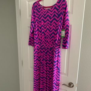 Lilly Pulitzer gorgeous maxi large NWT